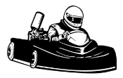 Go Kart 1 Decal Sticker