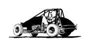 Wingless Sprint Car v4 Decal Sticker
