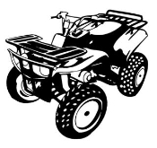ATV 2 Decal Sticker