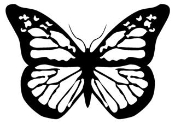 Butterfly 14 Decal Sticker