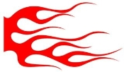 Flame Pattern 22 Decal Sticker