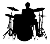 Drummer 2 Decal Sticker
