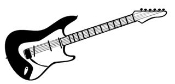 Guitar 1 Decal Sticker
