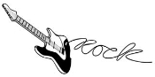 Guitar 2 Decal Sticker