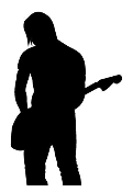 Guitarist 2 Decal Sticker