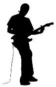 Guitarist 6 Decal Sticker