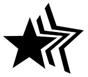 Star 1 Decal Sticker