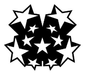 Star Design 2 Decal Sticker