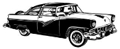 Classic Car v4 Decal Sticker
