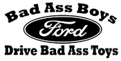 Bad Ass Boys Ford Decal Sticker