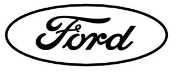 Ford Oval Outline Decal Sticker