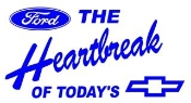 Ford The Heartbreak Decal Sticker