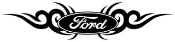 Ford Tribal 2 Decal Sticker