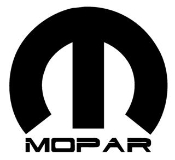 Mopar 1 Decal Sticker