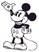 Mickey Mouse 2 Decal Sticker