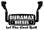 Duramax Let The Coal Roll Decal Sticker