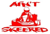 Aint Skeered Shifter Kart Decal Sticker