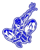 Spiderman 4 Decal Sticker