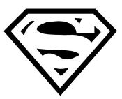 Superman v3 Decal Sticker