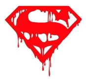 Superman Death Decal Sticker