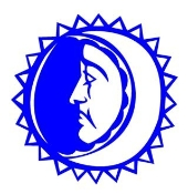 Sun and Moon Decal Sticker
