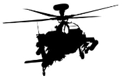 Helicopter v7 Decal Sticker