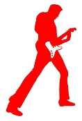 Guitarist 7 Decal Sticker