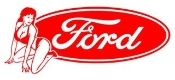 Ford Girl 3 Decal Sticker