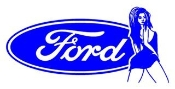 Ford Girl 4 Decal Sticker