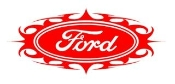 Ford Oval Tribal 1 Decal Sticker
