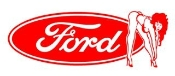 Ford Girl 5 Decal Sticker