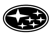 Subaru v1 Decal Sticker