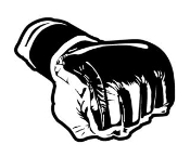 MMA Glove 1 Decal Sticker