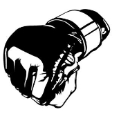 MMA Glove 2 Decal Sticker