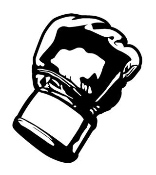 MMA Glove 3 Decal Sticker