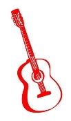Acoustic Guitar Decal Sticker