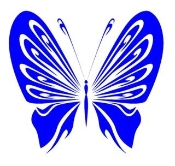 Tribal Butterfly 15 Decal Sticker