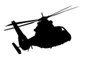 Helicopter v10 Decal Sticker