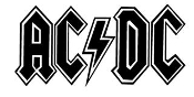 AC DC Decal Sticker
