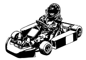 Go Kart 7 Decal Sticker