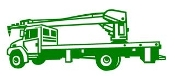 Crane Truck Decal Sticker