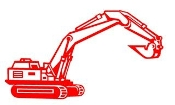 Excavator v3 Decal Sticker