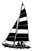 Sailboat 9 Decal Sticker