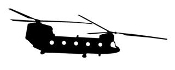 Helicopter v18 Decal Sticker
