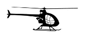 Helicopter v20 Decal Sticker