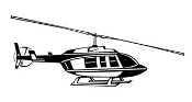 Helicopter v21 Decal Sticker