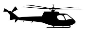 Helicopter v25 Decal Sticker