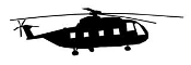 Helicopter v31 Decal Sticker
