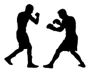 Boxing Silhouette v1 Decal Sticker