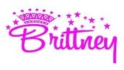 Personalized Princess Name Decal Sticker